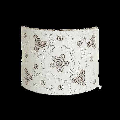 arbotante elegante de cerámica