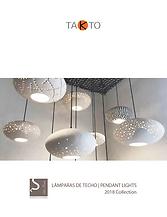 iluminación, lámpara de techo