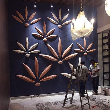 wall art de cerámica_henequenes