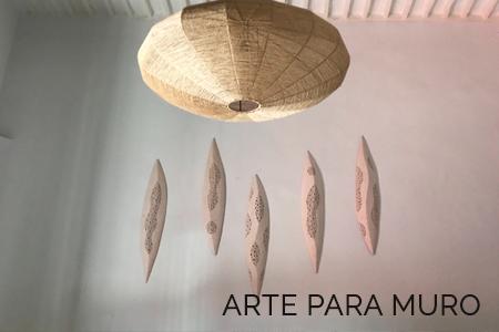 Decorativos de pared en cerámica