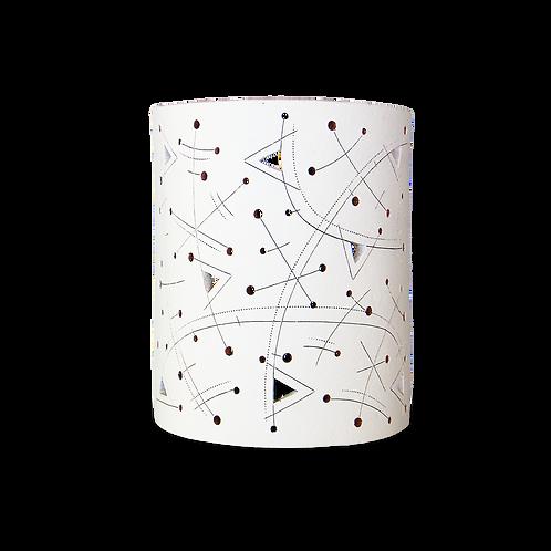 modern ceramic wall sconce