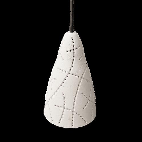 lámpara colgante de cerámica