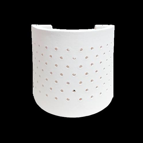 arbotante minimalista de cerámica