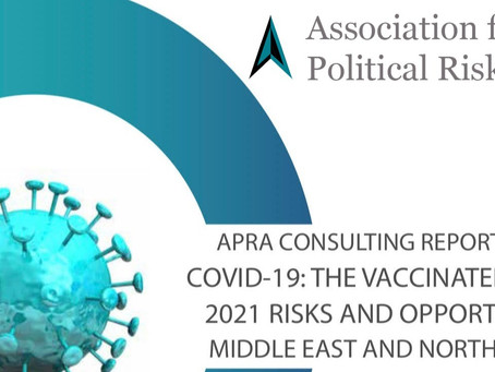 Consulting Report Series <COVID-19: The Vaccinated World 2021 Risks and Opportunities in MENA>