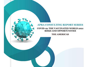 Consulting Report Series <COVID-19: The Vaccinated World 2021 Risks and Opportunities in Americas>