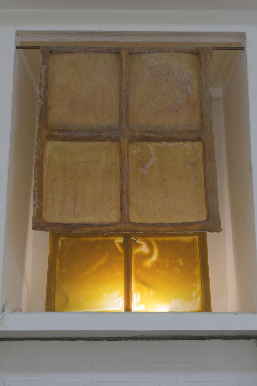 Peaux de fenêtre (I, II), 2016