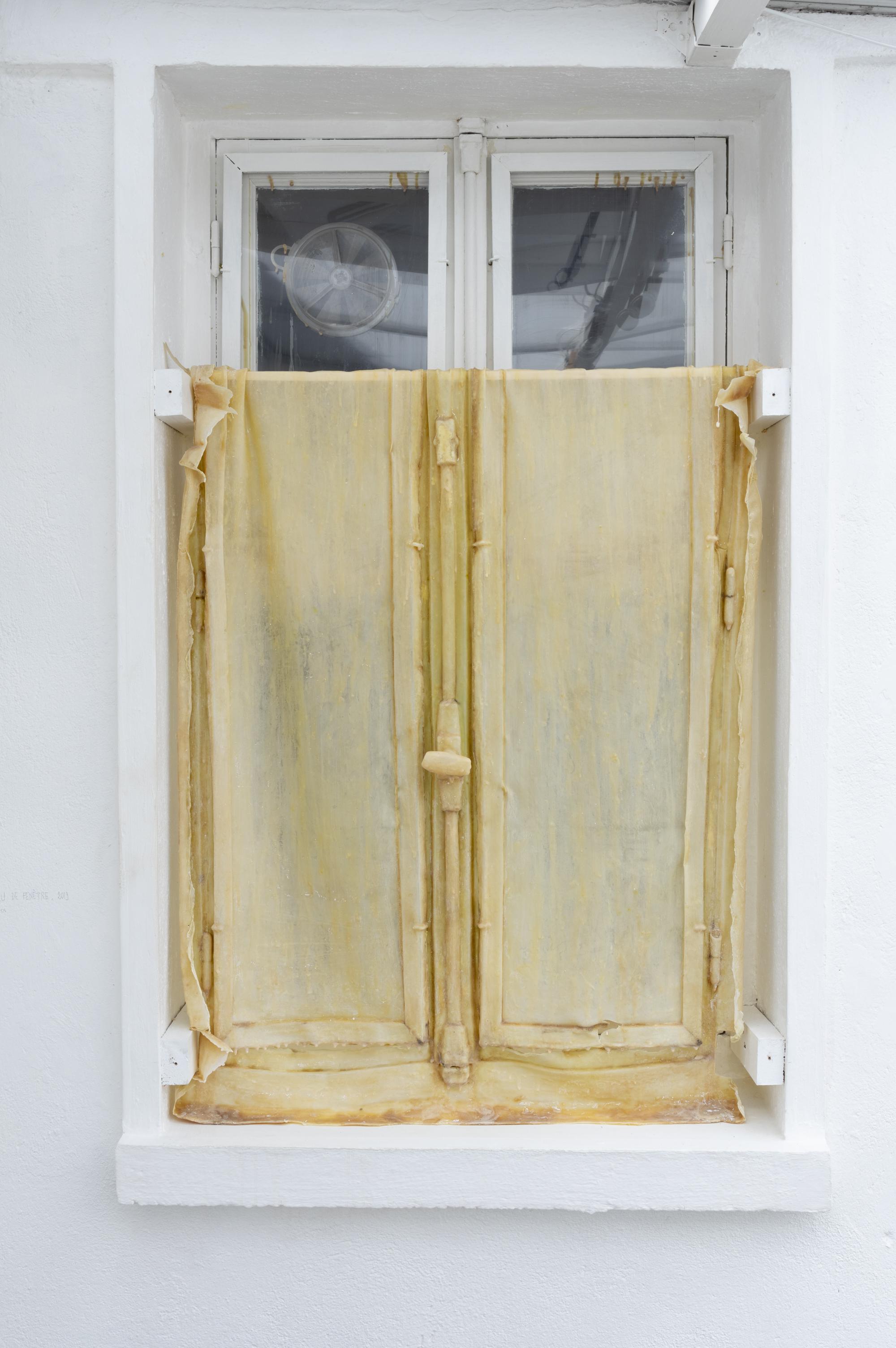 Peau de fenêtre III, 2019