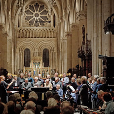 Conducting in Christ Church Cathedral