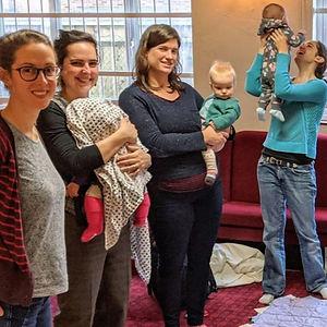 Rock-a-bye choir for mums