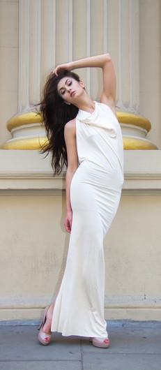 Fashion Designer - Kim Innu & Model Ina Nica