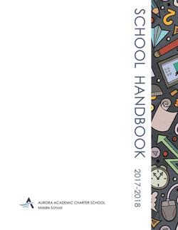 Student Handbook - Middle School