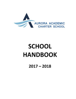 Student Handbook - Elementary