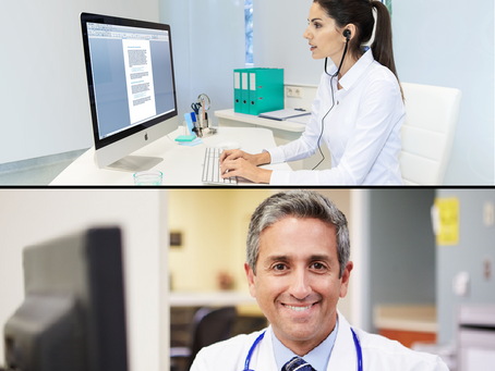 All-American Transcription Team for all Healthcare Specialties