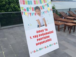 ÖMER'in 1.Yaş Doğum Günü Partisi