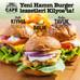 Yeni Hamm Burger lezzetleri Kilyos'ta!