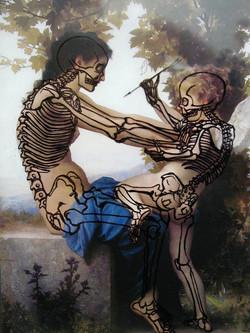 Stabbing: Bones [from Bouguereau]