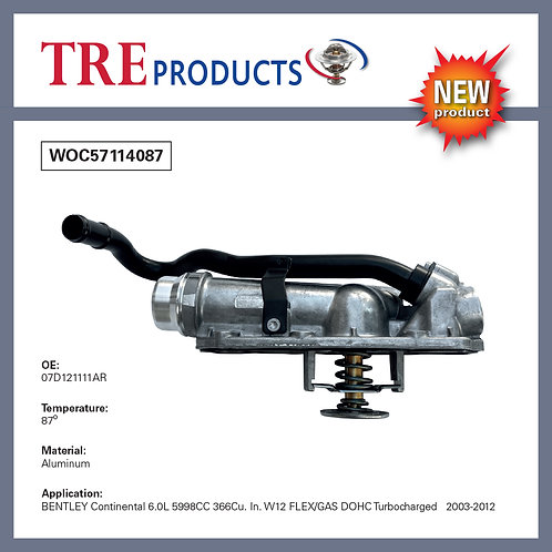 WOC57114087 - Thermostat Housing 87C - Bentley Continental