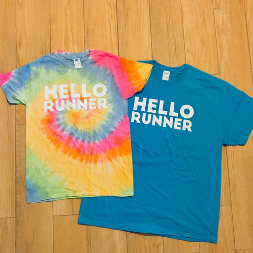 HELLO RUNNER tshirt