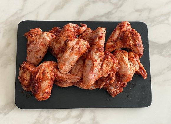 Chicken wings firecracker sauce