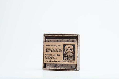 Swag Coffee & Cream Goats Milk Soap Bar