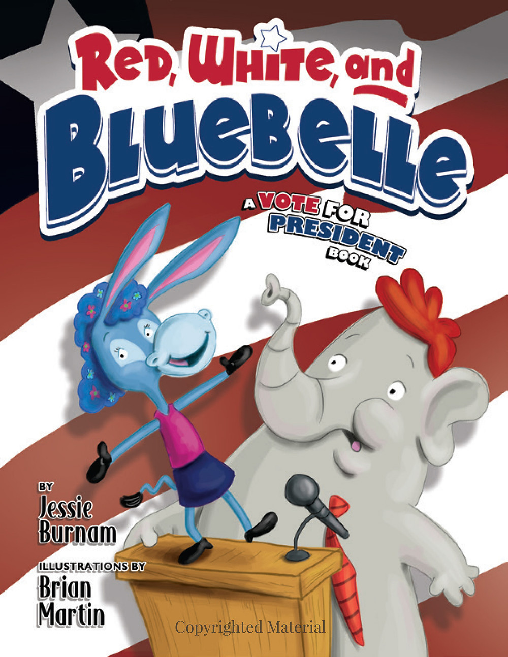 This nonpartisan political satire is for children and adults!