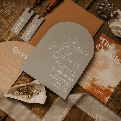 Pierra Wedding Invitation