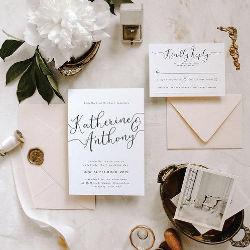 Ophelia Wedding Invitation