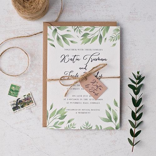 Willow Wedding Invitation