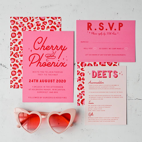 Alabama Wedding Invitation
