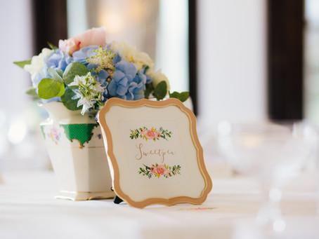 Fresh & Floral pastel wedding ideas!