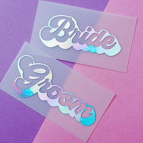 Angel Holographic Vellum Place Cards
