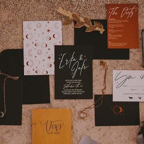 Lilith Wedding Invitation