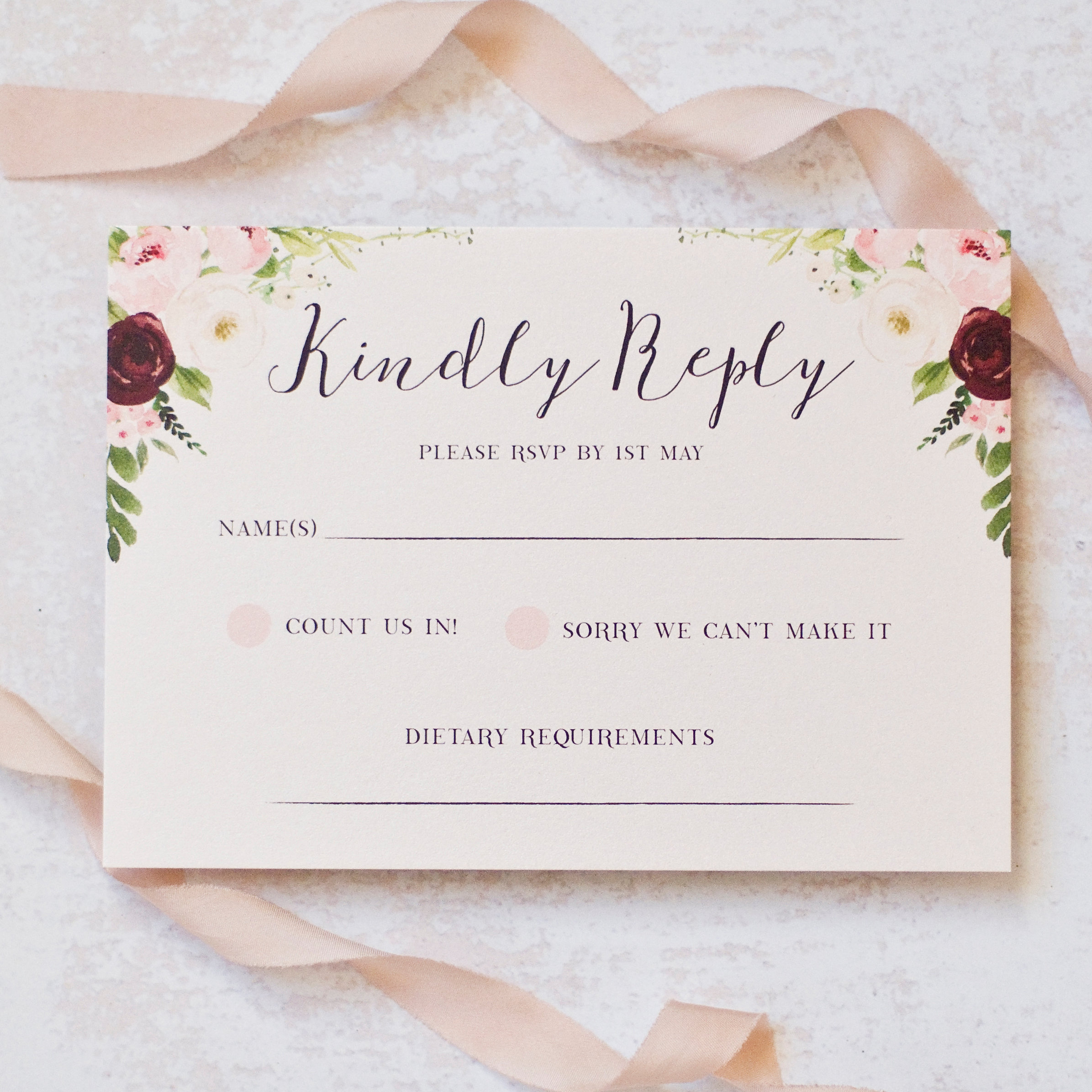 Peach Wolfe Paper Co | Wedding Stationery & Paper Goods | Bella ...