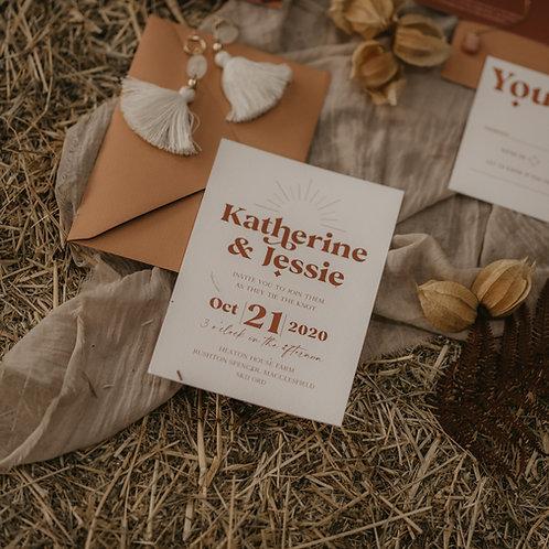 Jessie Wedding Invitation