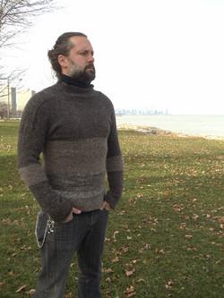 handspun wool sweater