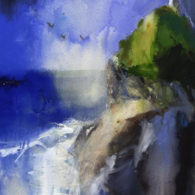 77 Abereiddy Castle Rock