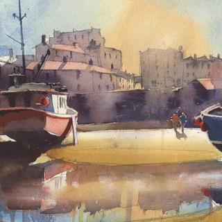 60 Tenby Boats Sun