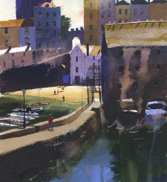 81 Tenby Harbour morning