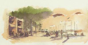 St. Helier sketch