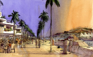 Middle East seafront
