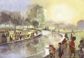 Gustafson Porter, Diana Memorial