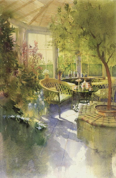 Whicker Chair, Homes and Gardens