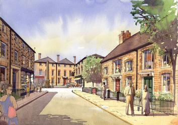 John Simpson, Swindon village
