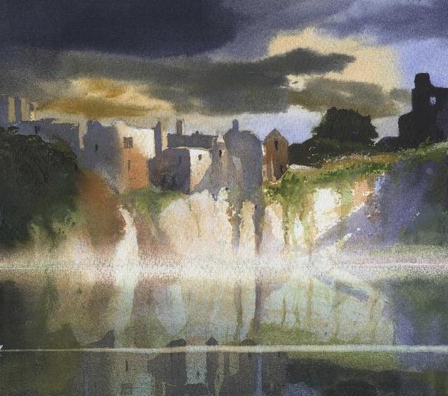 98 Chepstow Castle Mist