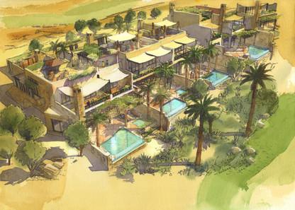 Morocco 3, Hart Howerton