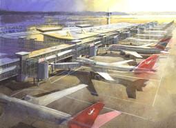 Huckle Tweedle Seeb airport
