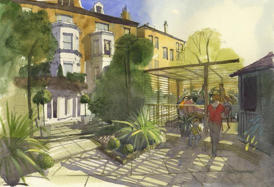Edward Hill Partnership Garden Chelsea