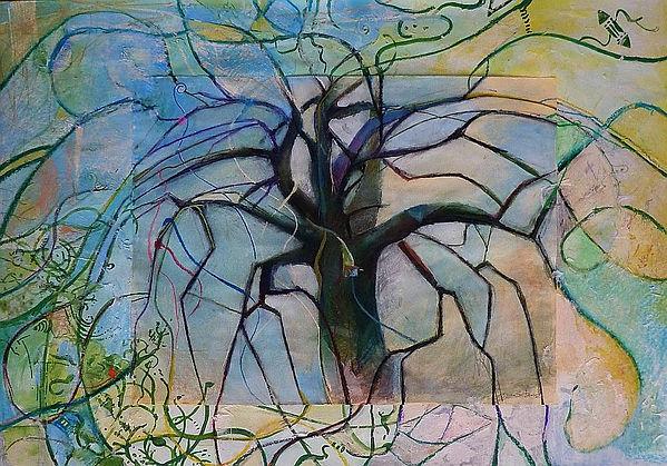 centre. paper, 100x70 cm by Dagna Gmitrowicz
