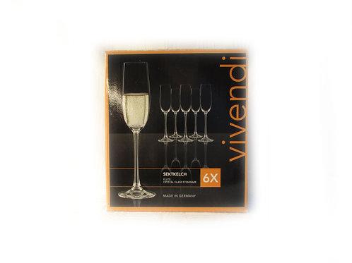 Kuohuviinilasit, Champagne, Vivendi lasit
