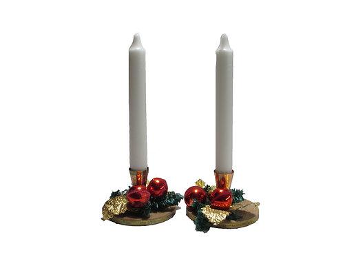 Harvinaiset kynttilänjalat 2kpl K.A Weiste